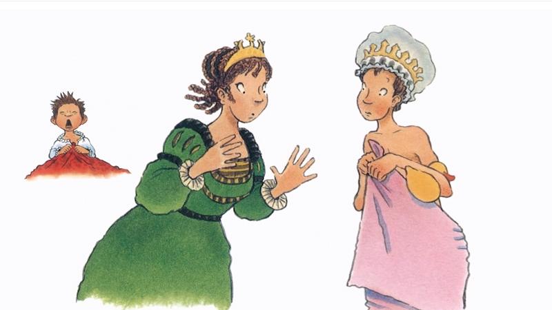 Hoàng tử nói việc này cho hoàng hậu nghe, rồi hoàng hậu nói cho vua nghe.