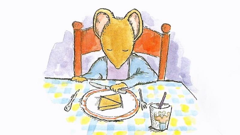 Chester cắt bánh theo hình chéo.