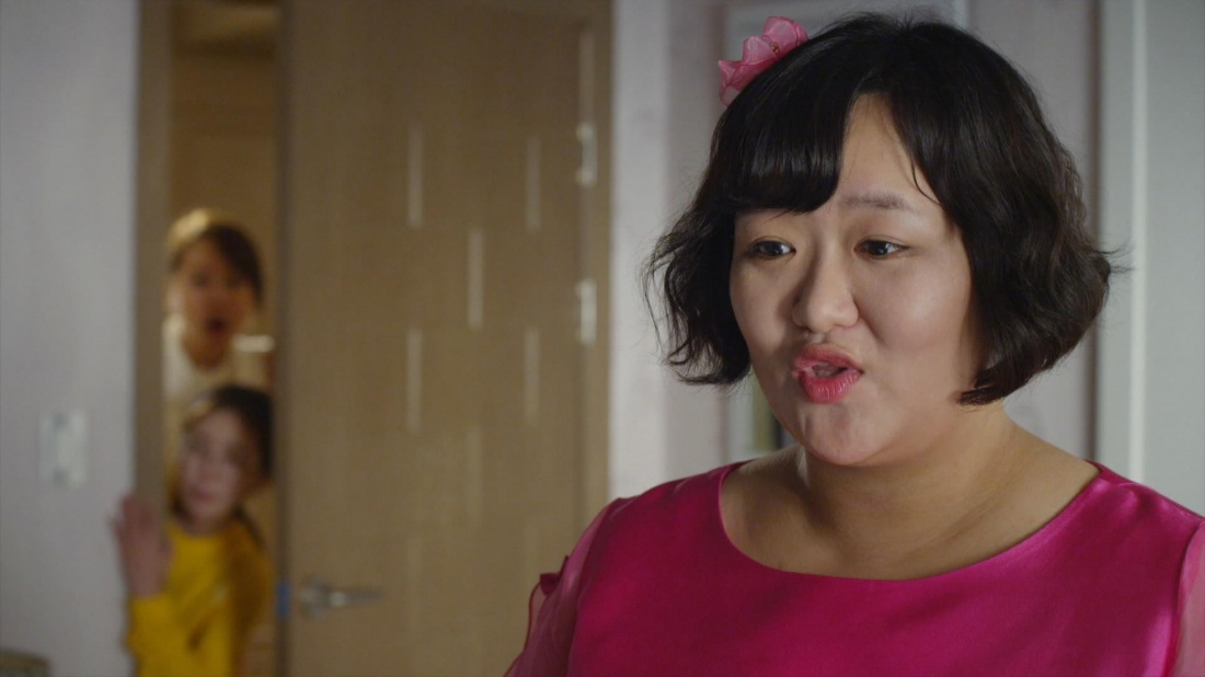 Sa Geum Ran là người phụ nữ trẻ có thân hình mập mạp không mấy thu hút.