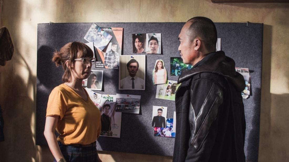 Cặp đôi Thu Trang và Tiến Luật đảm nhận vai chính trong ''Chí Phèo Ngoại Truyện''.