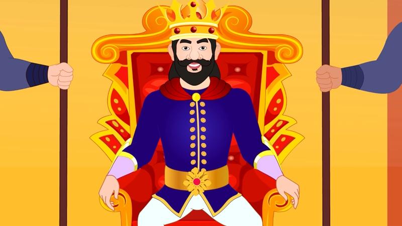 Nhà vua ban lệnh cho mọi người ai tìm ra bí mật của các công chúa sẽ được truyền ngôi báu.