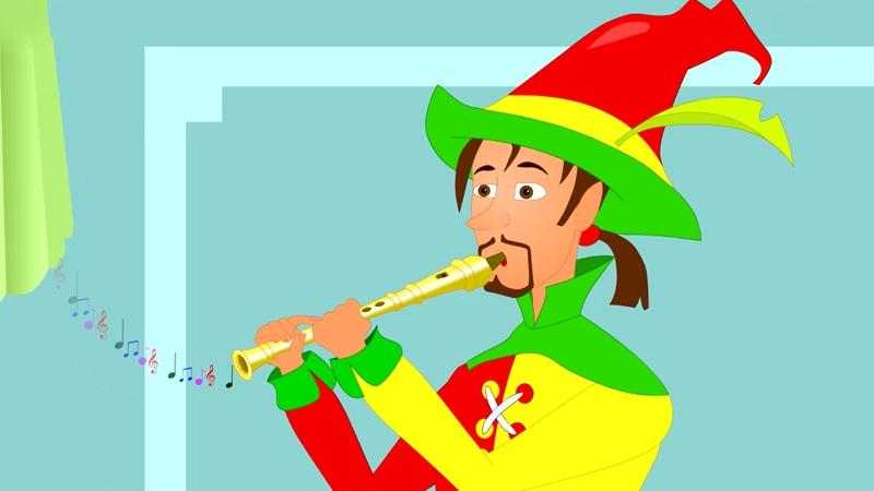 Đây chính là người thổi sáo giúp thành phố thoát khỏi lũ chuột.