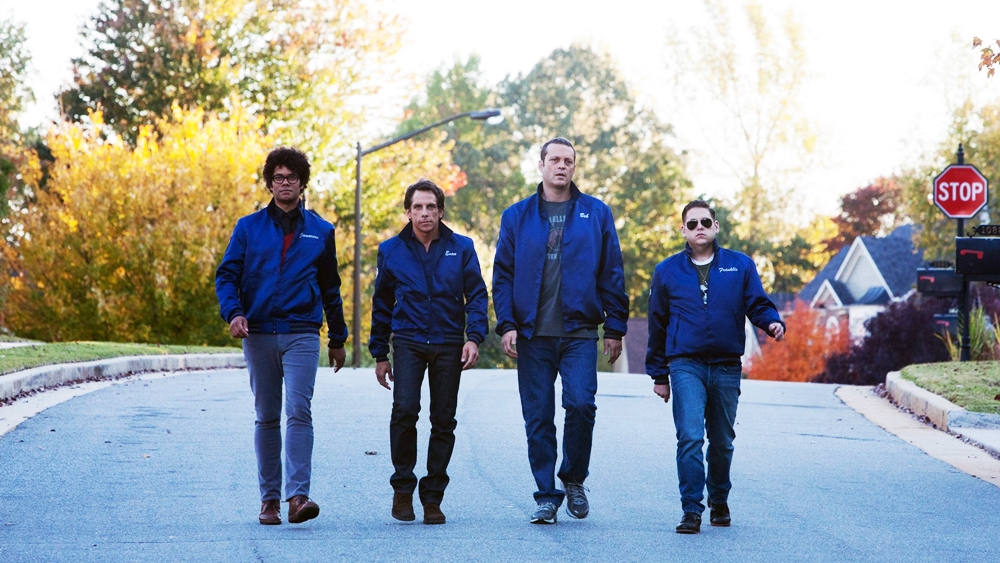 Bốn anh chàng Evan, Bob, Franklin, Jarmacus tự lập thành một đội phòng vệ.