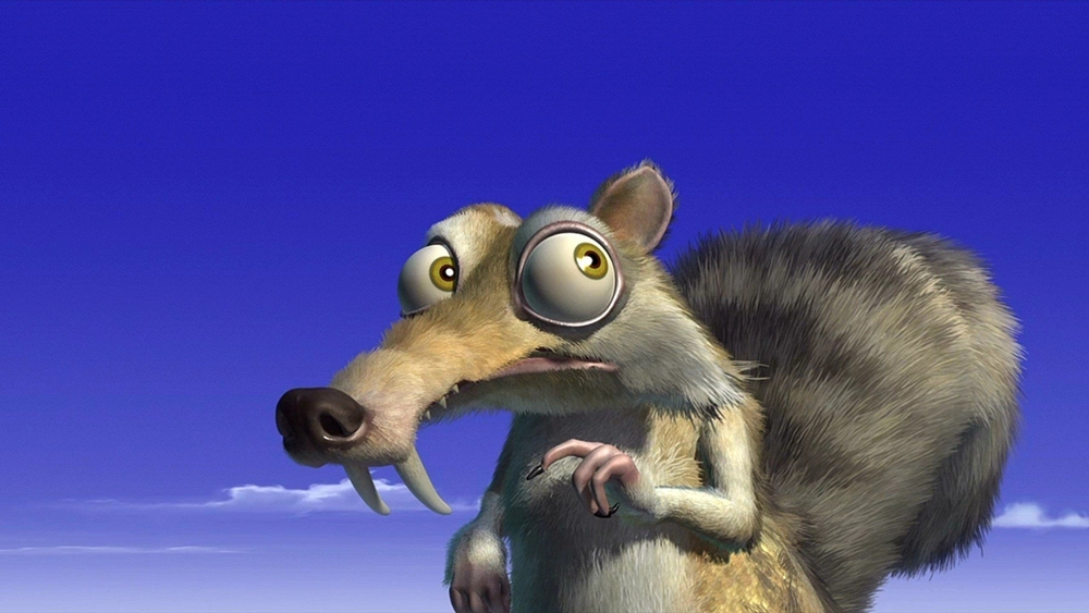 ''Ice Age'' là màn chào sân của chú sóc lầy lội Scrat.