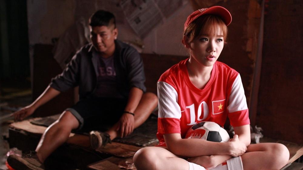 Một phân cảnh khác có sự góp mặt của Hari Won trong phim ''Ma Dai''