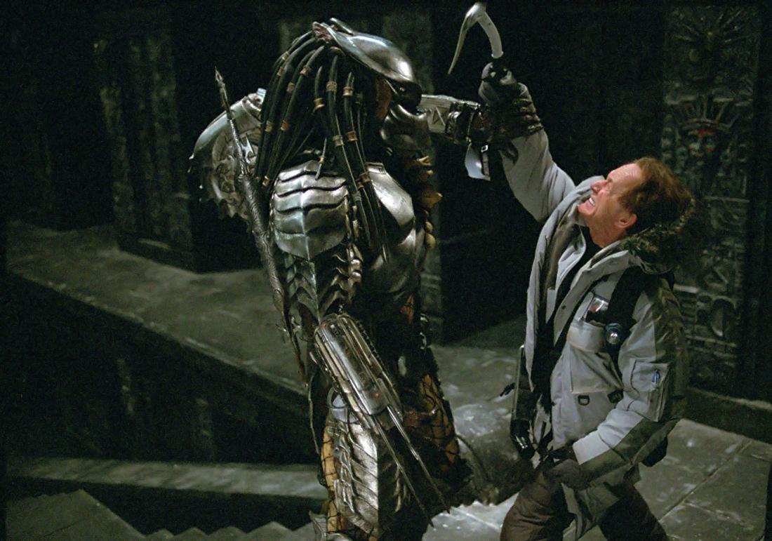 ... Một cảnh trong phim ''Alien vs. Predator''.