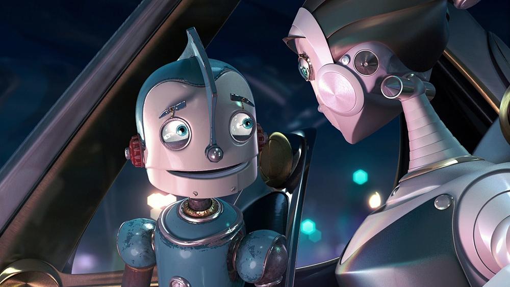 Rodney Copperbottom, chàng robot trẻ sinh ra trong một gia đình nghèo ở thị trấn Đinh Ốc
