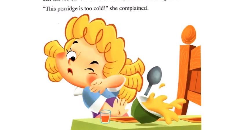Goldilocks vào nhà gấu ăn cháo mà không xin phép.