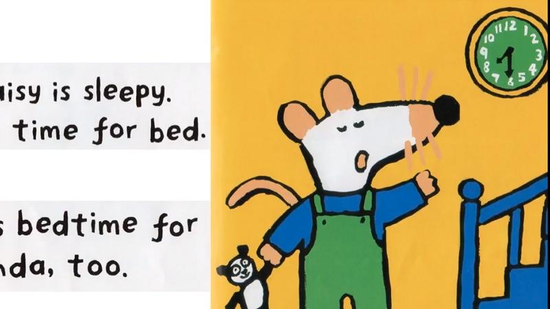 Đã đến giờ đi ngủ của bạn Maisy.