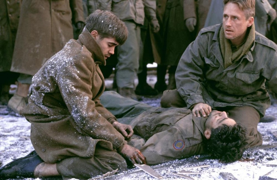 Adrian Grenier, Colin Farrell và Linus Roache trong phim ''Hart's War''.