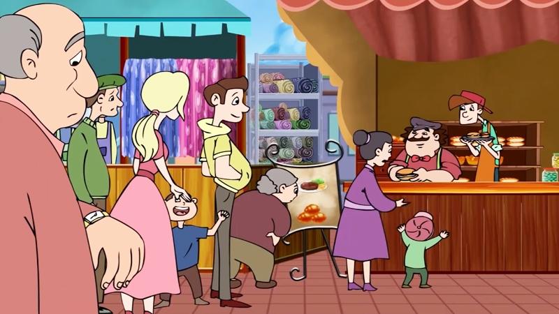 Nhà hàng đắt khách sau khi bán bánh hamburger.