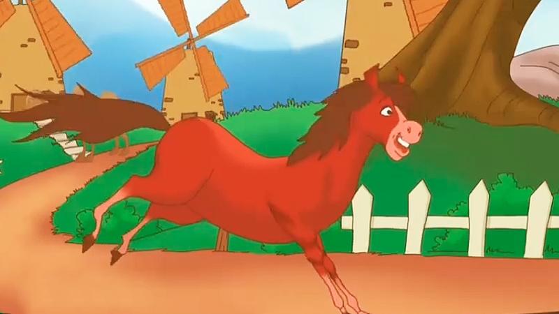 Câu chuyện ''Lạ đà và ngựa đỏ''.