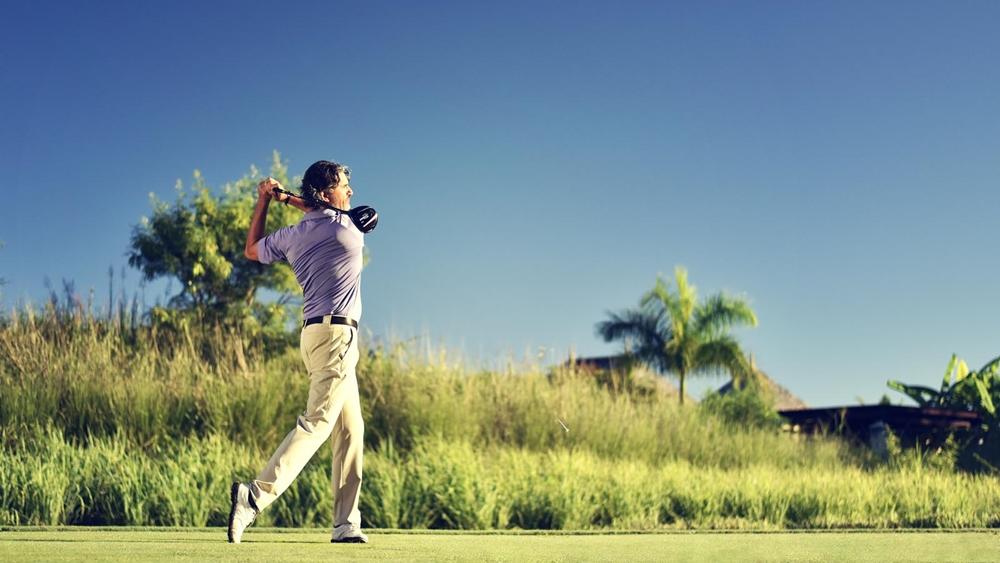 Bạn sẽ có được những phút giây giả trí hiệu quả cùng với golf.