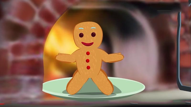 Cậu bé bánh gừng nhảy khỏi lò nướng