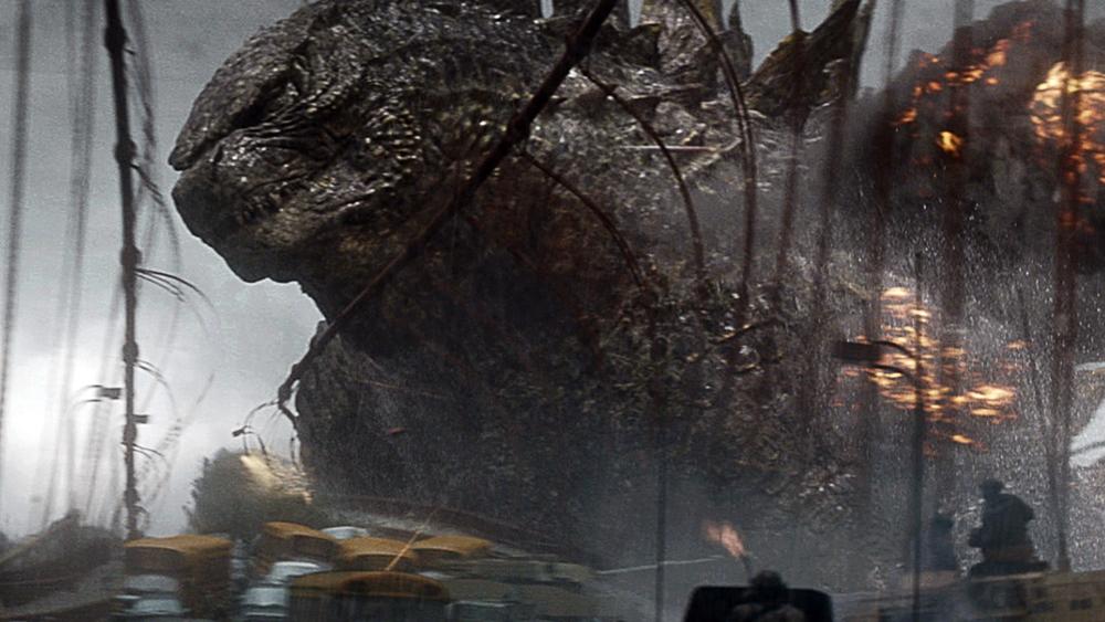 Một phân cảnh khác trong phim ''Godzilla''