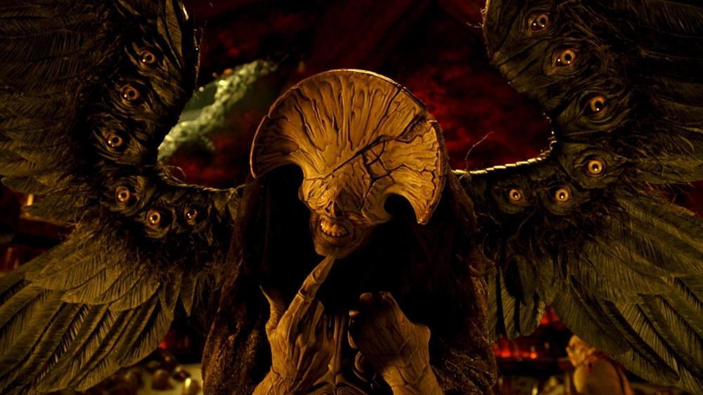 Sự xuất hiện của Thiên Thần Chết trong phim.