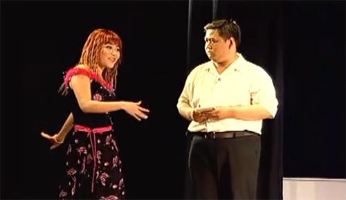 Vở kịch có sự tham gia của các diễn viên Bảo Quốc, Minh Béo