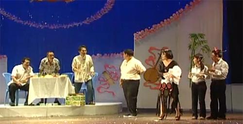 Một cảnh trong vở kịch