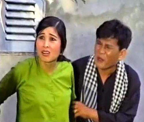 Hồng Vân tiếp tục vào vai vợ thằng Đậu trong tiểu phẩm hài 'Đường Đậu Đen'
