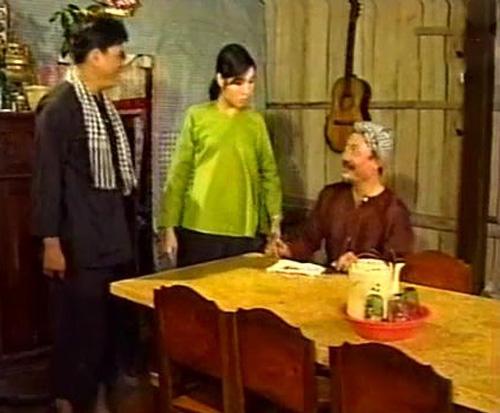 Một phân cảnh trong tiểu phẩm hài 'Đường Đậu Đen'