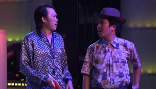 Vở kịch có sự tham gia của Hoài Linh, Trường Giang, Chí Tài