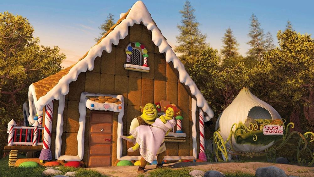 Sau tuần trăng mật, vợ chồng Shrek lên đường đến vương quốc Xa Thật Xa thăm đức vua và hoàng hậu.