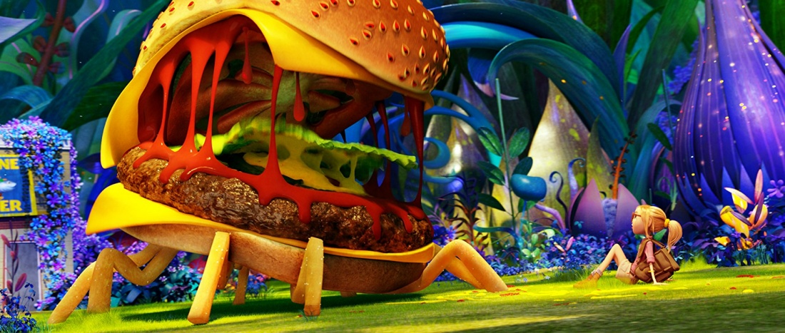 Quái vật Hamburger vừa đáng sợ lại vừa... dễ thương.