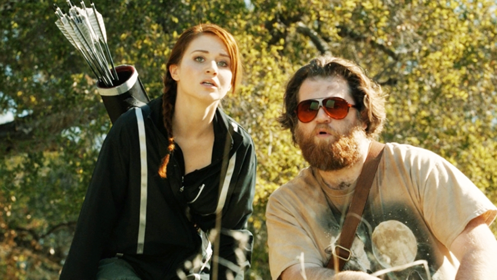 Một cảnh trong phim ''The Hungover Games''