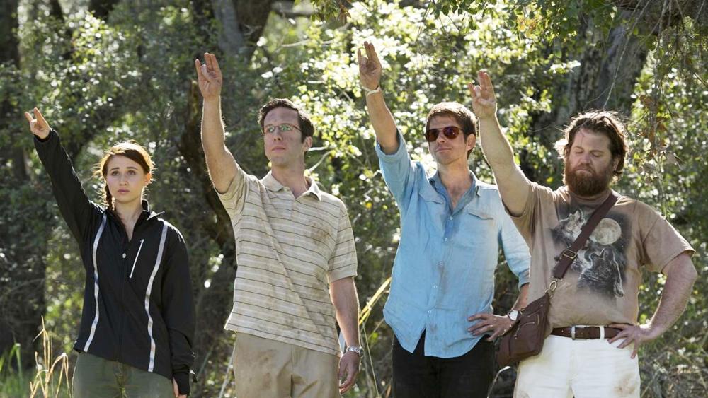 Những anh chàng: Bradley, Ed, và Zach đang ở trong đấu trường say xỉn
