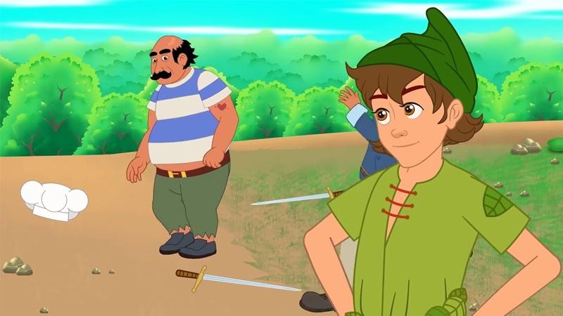 Peter Pan Và Thuyền Trưởng Húc