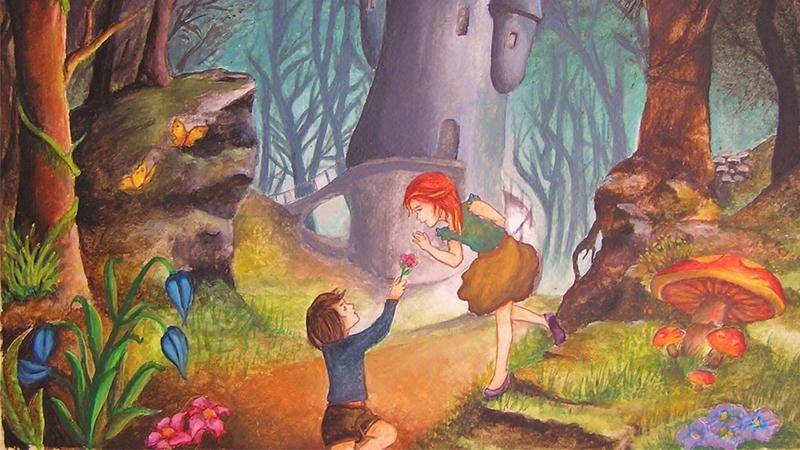 Jorinda Và Jorindel Trong Rừng Sâu