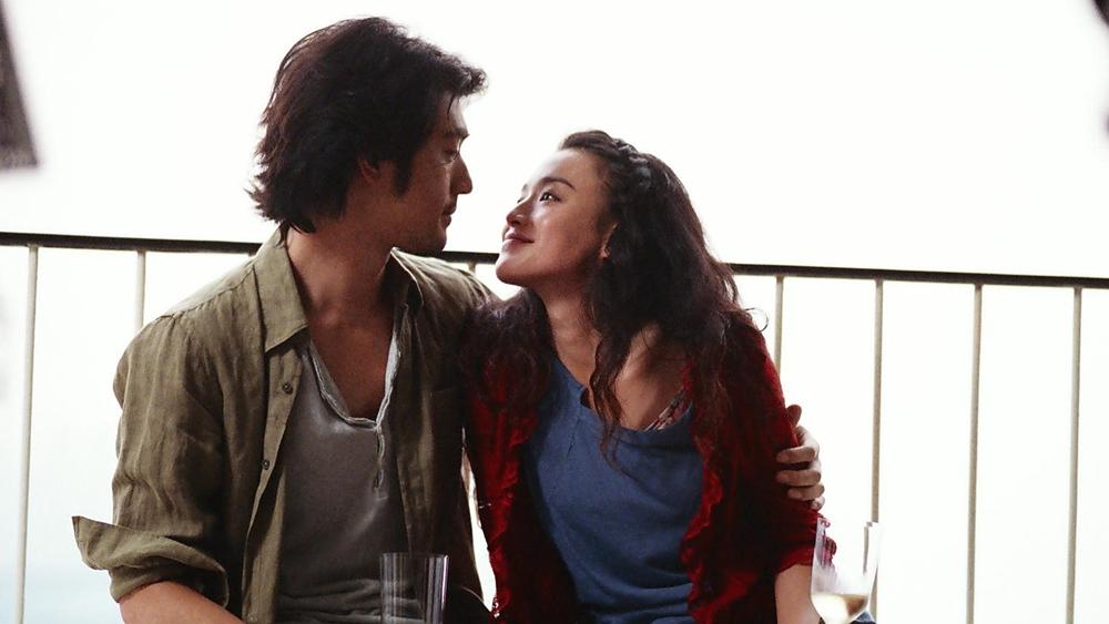 Một phân cảnh tình cảm giữa Thư Kỳ và Kim Thành Vũ trong phim ''Confession Of Pain''