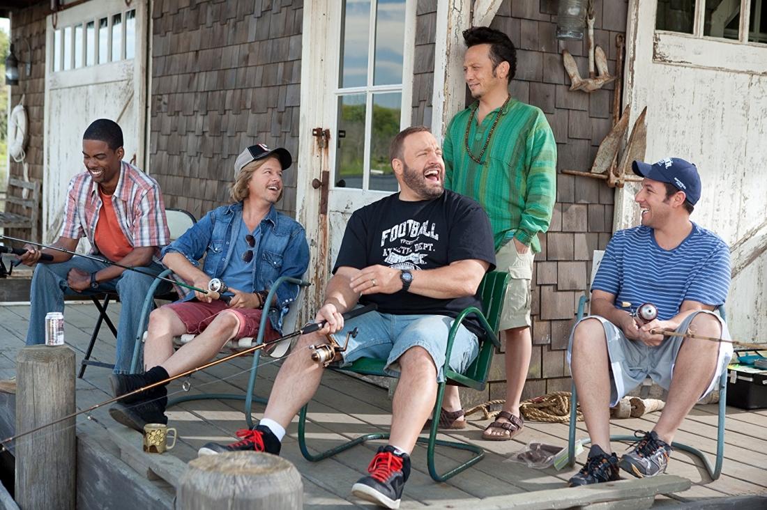 Giờ đây, tụ tập đông đúc tại căn nhà nghỉ bên hồ của Lenny là 5 người đàn ông trưởng thành với vợ, con và hàng loạt vấn đề liên quan.