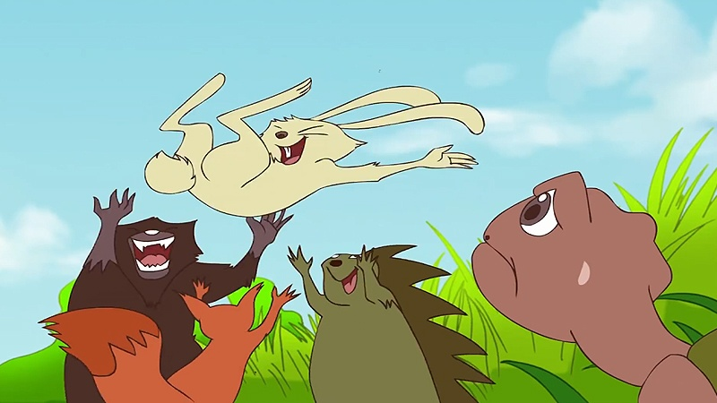 Thỏ đã chiến thắng rùa.