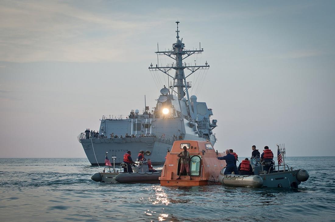Phim dựa trên câu chuyện có thật xảy ra vào năm 2009 khi người dân Mỹ và thế giới đều hướng về vùng biển Somalia – nơi con tàu chở hàng Maersk Alabama bị cướp biển tấn công.