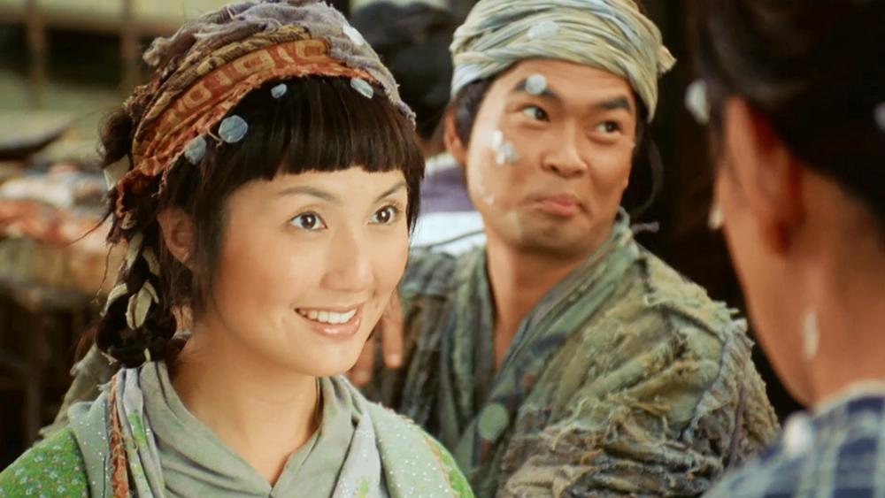 Hàm Hương là cô gái bán cá xinh đẹp