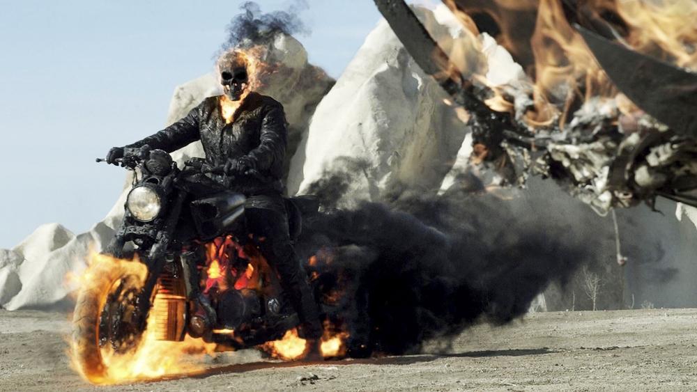 Anh miễn cưỡng trở lại với sức mạnh của ''Ghost Rider''