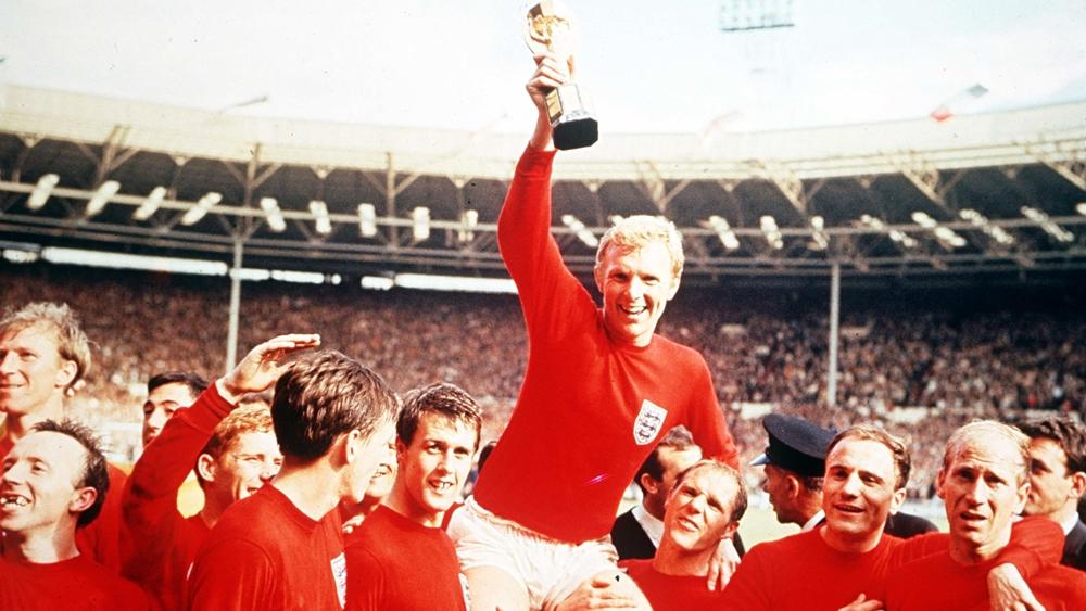 Những ngôi sao Tuyển Anh và chức vô địch World Cup 1966.
