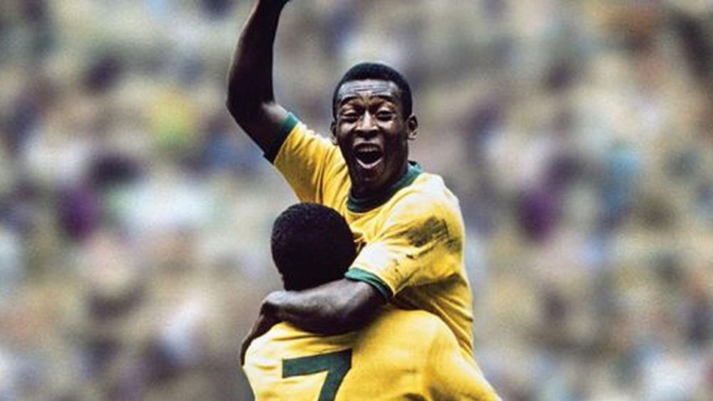 Vua bóng đá Pele.