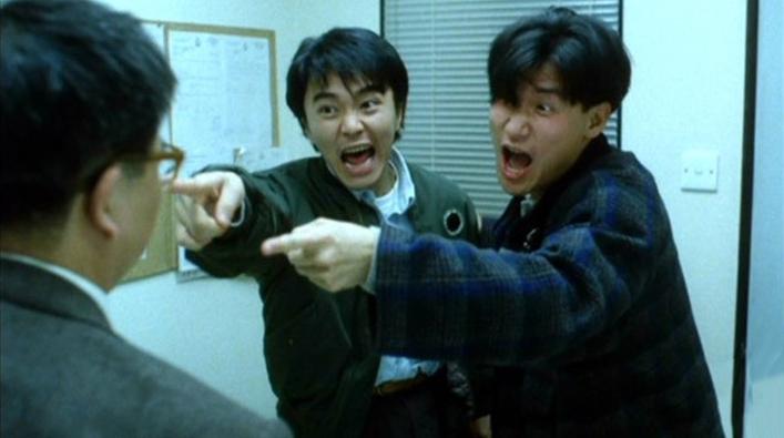 Pepper và Curry là cặp đôi cảnh sát hậu đậu thuộc sở cảnh sát Hồng Kông.