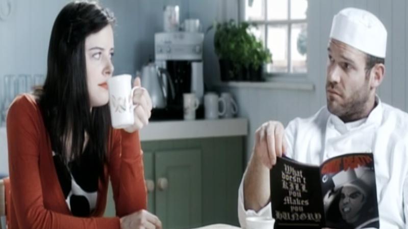 Một cảnh trong phim ''Love's Kitchen''