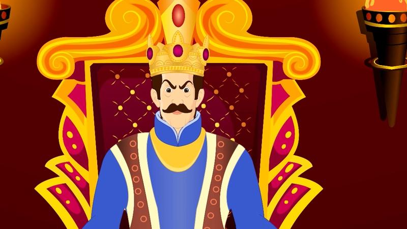 Nhà vua bất ngờ khi thông báo mỗi đêm đều có một quả táo vàng bị mất.