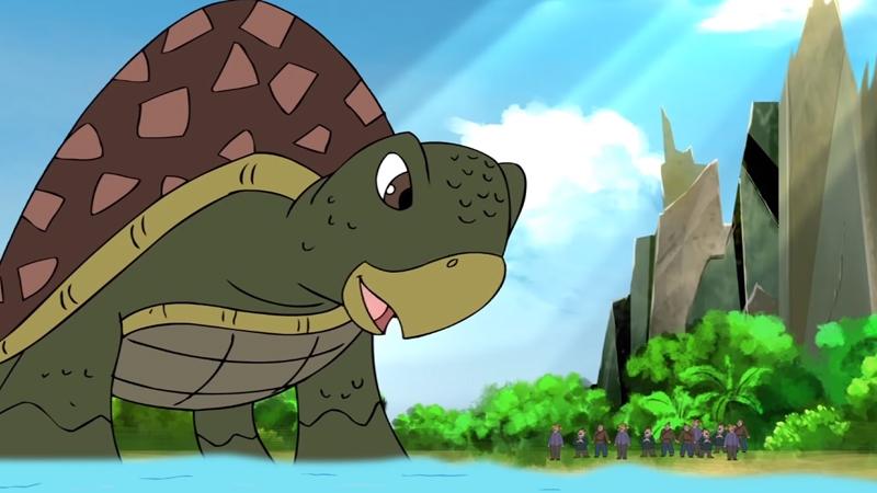 Rùa Thần Khổng Lồ