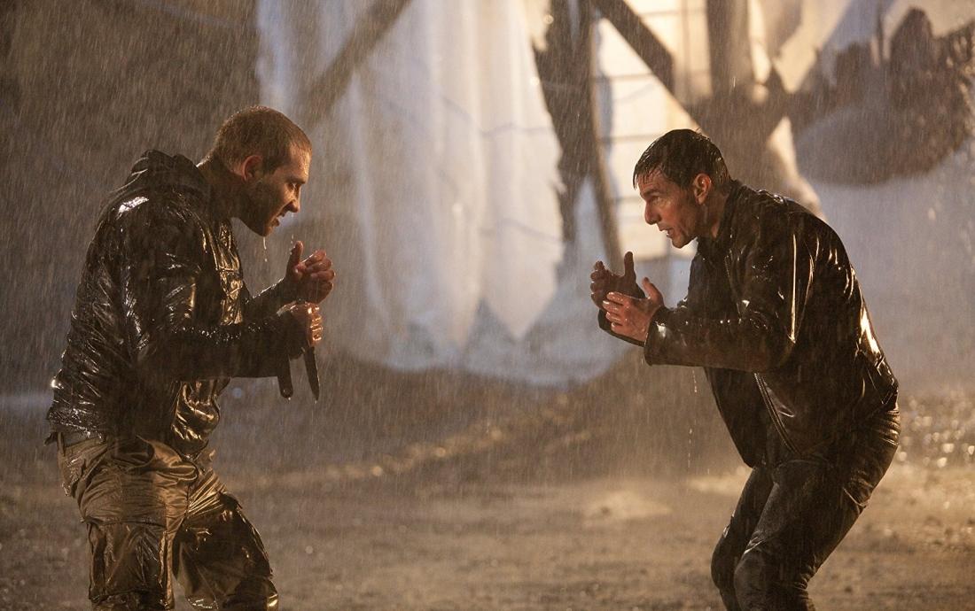 Cảnh đấu tay đôi giữa Charlie và Jack.