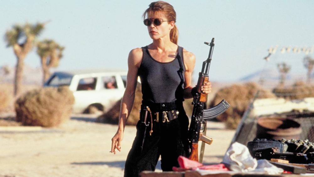 Linda Hamilton trong vai Sarah Connor