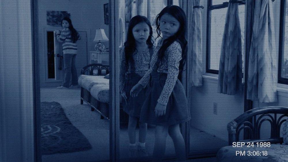 Một phân cảnh khác trong ''Paranormal Activity 3''