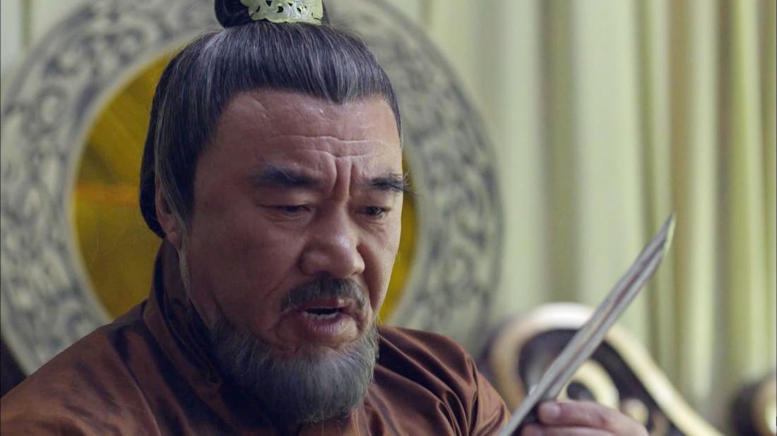 Diễn viên Thạch Lê Minh trong vai Đổng Trác.