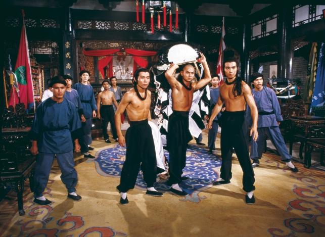 Lưu Gia Huy trong vai Hoàng Phi Hồng.