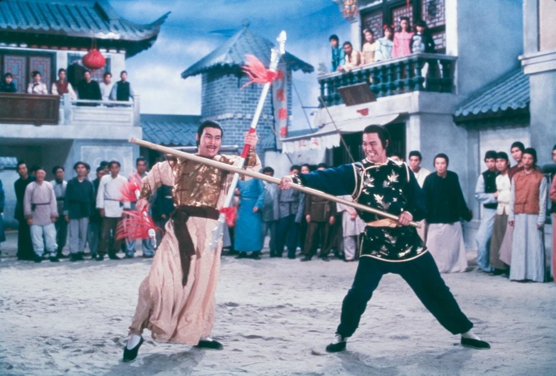 Một cảnh trong phim ''Opium And The Kung Fu Master''.