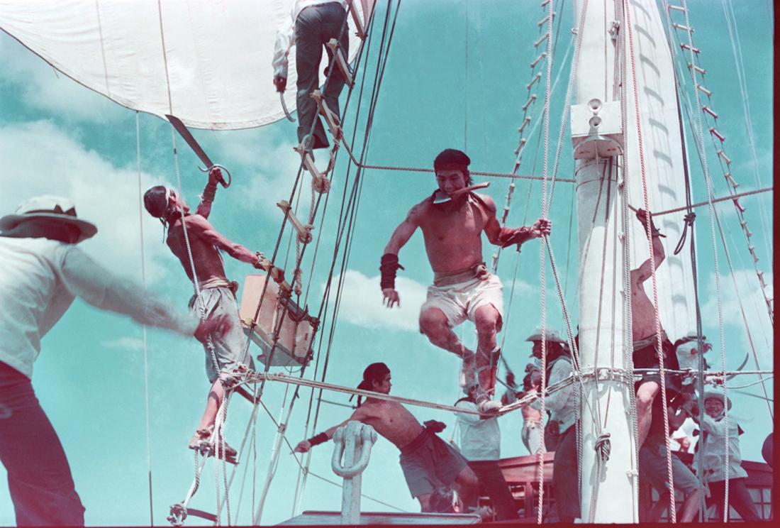 Một cảnh trong phim ''The Pirate''.